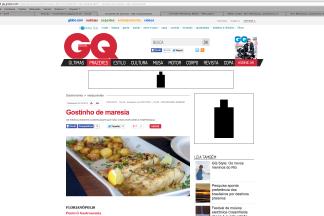 revista GQ - Bistro Ponto G