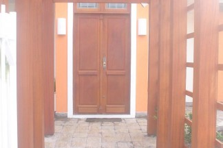 Pergolado entrada da casa